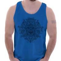 Jungle Spirit Animal Lion King Mystic Shirt   Illuminati Eye Tank Top