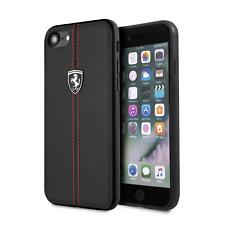 Ferrari Phone Case iPhone SE (2020) iPhone 8 and iPhone 7 with stitching Black