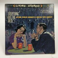 RCA LIVING STEREO  LSC 6082 2LP 1S/1S/2S/1S  Everything But the Beer  Fiedler