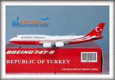 "JC Wings 1:400 Turkey Government Boeing 747-8i ""TC-TRK"" LH4132"