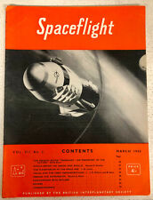 Spaceflight: British Interplanetary Society. RARE ISSUE: March 1965
