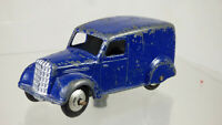 Rare Meccano Dinky Toys 280 1940s Delivery Van Bedford Blue Diecast Vintage Toy