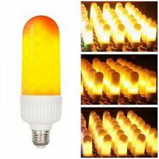Lampada Led Effetto Fiamma Flame Lampadina E27 Emulazione Fuoco Tremolante sus