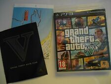 Jeu Sony Playstation 3 Grand theft auto five complet TBE