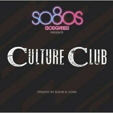 SO80S PRESENTS CULTURE CLUB (CURATED BY BLANK & JONES) CD NEW+