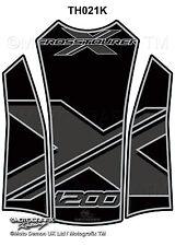 Honda VFR1200X Crosstourer 12 - 14 Motorcycle Tank Pad Motografix Gel Protector