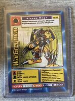 Carte Digimon WarGreymon MP-84 Française Near-mint ULTRA RARE