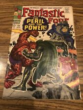 FANTASTIC FOUR  # 60   NOT CGC RATED  VF  8.0   1ST SERIES SILVER  AGE 1967