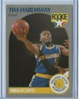 1990-91 Hoops Tim Hardaway rookie card