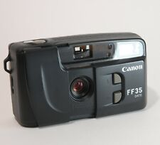 Canon Ff35 Date 35mm Film Camera Point and Shoot Tested