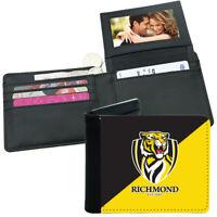 AFL Mens Wallet - Richmond Tigers - 12x10cm Fits 10 Card + Notes