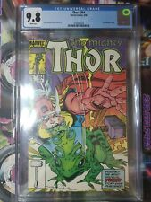 The Mighty Thor #364   CGC 9.8  White Pages -1st Throg spec book 🔥🥵📈