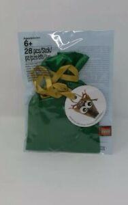LEGO 5005253 Christmas Tree Ornament Reindeer Head 2018 Poly Bag