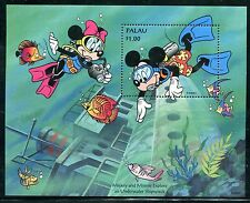 Palau 341-343 Disney characters  Mickey & Friends Visit the Palau 1994 x14485
