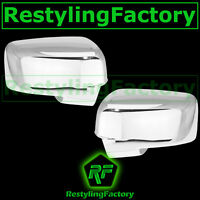 Chrome plated Full ABS Mirror Cover Pair Kit for 2009-2012 Dodge Ram HD