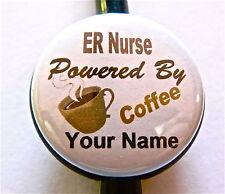 ID STETHOSCOPE NAME TAG, ER NURSE OR C/B DOCTOR,NURSE,TECH,RN,LVN,CCU,ICU,TEACHR