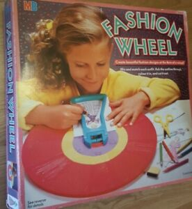 FASHION WHEEL Vintage Toy 1987 Retro designer RARE - Make offer :)