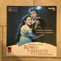 Gounod_Romeo et Juliette The Royal Opera_2 X LaserDisc_1995 Pioneer_near mint