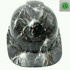 Vented Cap Hard Hat Custom Hydro Dipped Osha Approved Hell Raiser Skulls