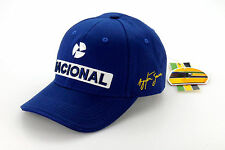 Ayrton Senna Driver Cap Nacional blau
