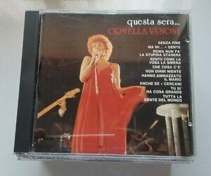 """ORNELLA VANONI - RARO CD FUORI CATALOGO """" QUESTA SERA... """""""