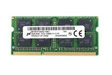 Micron MT16KTF1G64HZ-1G6E1 (8 GB, PC3-12800 (DDR3-1600), DDR3 SDRAM, 1600 MHz, DIMM 204-pin) RAM Module