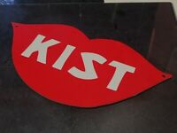 "Vintage 13"" Kist Soda Sign Replica 3D Printed Advertising Soda Lips Logo"