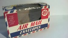 ( rare ) Vintage USA Air Mail Envelope Box ( mid 1960s ) Box only
