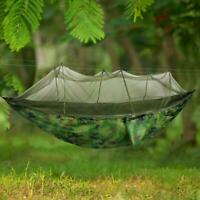 Outdoor Mosquito Net Parachute Hammock Camping HIking Hanging Sleeping Swing Bed