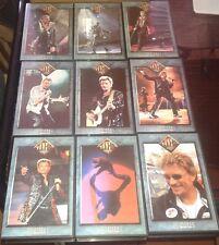 JOHNNY HALLYDAY RARE L INTEGRALE DES 9 CASSETTES VHS JOHNNY VIDEO MAGAZINE