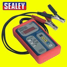 Sealey Electrical Digital Battery Tester/Testing/Diagnostic - 12V - BT2101