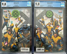 House Of X #4 Powers Of X #4 CGC 9.8 Molina Connecting Variant Covers Set BX5