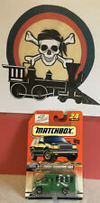 1999 Matchbox Speedy Delivery Chevy Transport Bus #24 New In Package