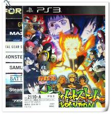 PS3 Naruto Shippuden Ultimate Ninja Storm Revolution Sony Bandai Namco Act Games