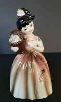 Lefton Figural Girl Planter Vase E 4088 1950s