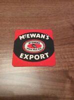 Vintage Rare & Collectable McEwan's Export Younger's Tartan Beer Mat Coaster