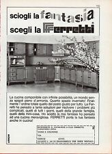 pubblicit advertising werbung 1968 cucine ferretti sciogli la fantasia