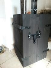 NEU Hausbar rustikal Shabbychic in der Farbe shabbyschwarz Holzkiste Holztruhe