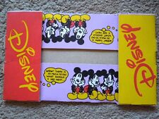 "Disneyland / Downtown Disney Mickey Mouse Cardboard Foldout 9 1/2"" Food Tray"