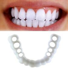 Smile Whitening Teeth Snap Caps On Instant Comfortable Flex Perfect Veneers B9D6
