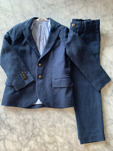 H&M Boys Size 4 Dress Suit Jacket And Pants