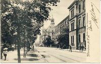 AK München, Sonnenstraße, gel. am 16.5.1904 nach Frankreich
