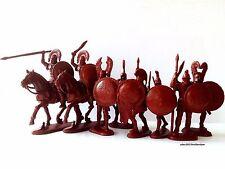 Ancient Greek Warriors LTD EDITION, 8 plastic toy soldiers1:32 60mm