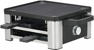 WMF Hood Raclette With Pans And Sliders, For 4 Person, 870 W Stainless Steel
