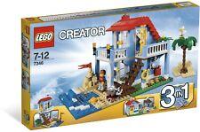 LEGO Creator 3in1 Seaside House (#7346)(Retired 2012)(Very Rare)