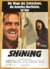 Shining - Orig. German One-Sheet * Kubrick * King * Nicholson * Horror *