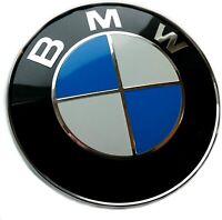Logo BMW 82mm Insigne Capot Coffre Emblème E46 E90 E92 E60 E34 E36 E39 X3 X5 X6