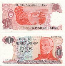 Argentinien / ARGENTINA - 1 Peso 1983 UNC - Pick 311, Serie A