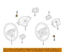 VW VOLKSWAGEN OEM 99-18 Jetta-Steering Wheel Bolt N90799102