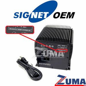 JLG Part 7041410 - NEW JLG 24V Scissor Lift Battery Charger   *SIGNET OEM*